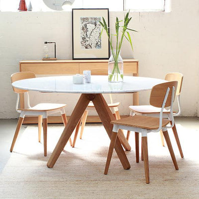 round marble dining table - Marble Dining Table