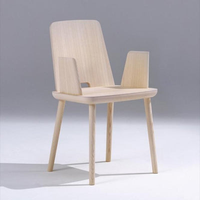 Sipa Tablet Dining Armchair in Natural Ash