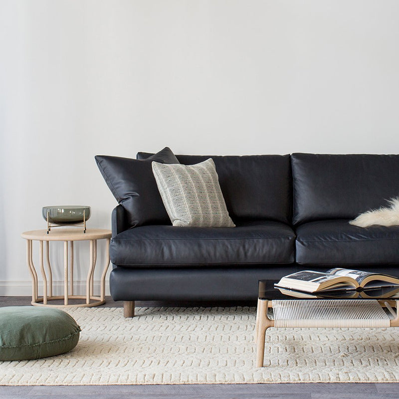 buy Dwell Sofa in Anthracite Leather online