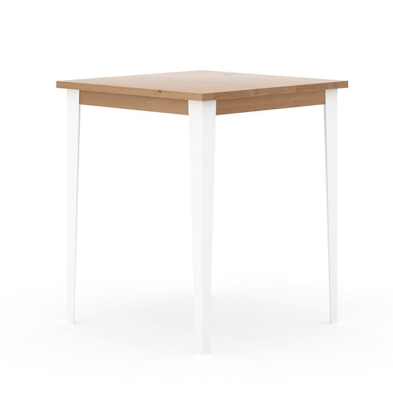buy Industrial M Bar Table - White online