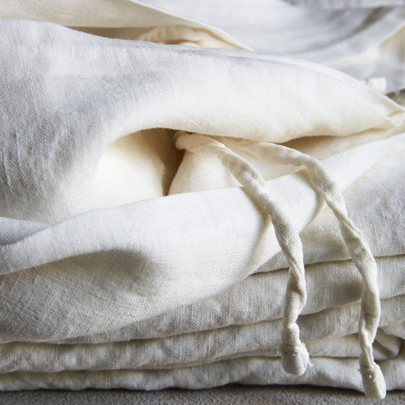 Duvet Cover in Off White - Bedouin Societe