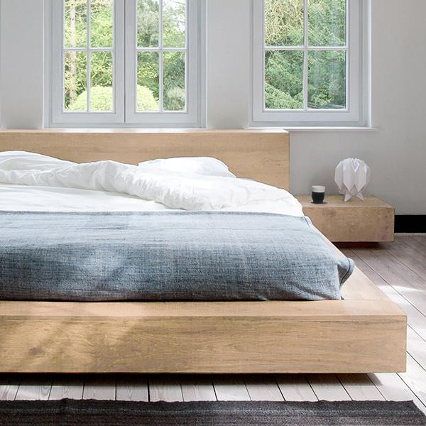buy Ethnicraft Oak Madra King Size Bed online