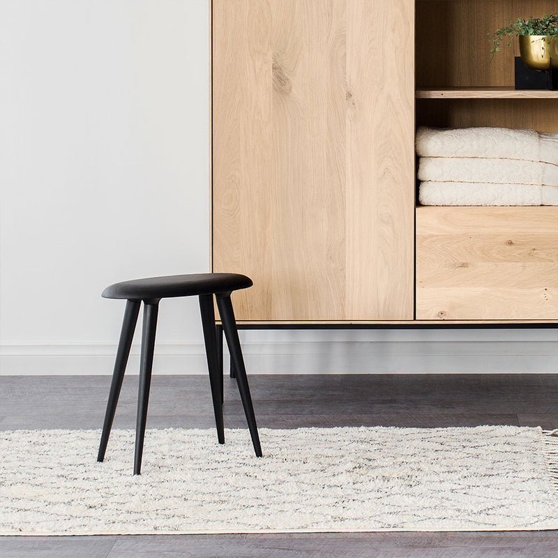 buy NOFU 644 Low Stool - Black Ash online