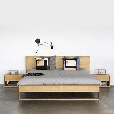 buy Ethnicraft Oak Nordic II Queen Bed online