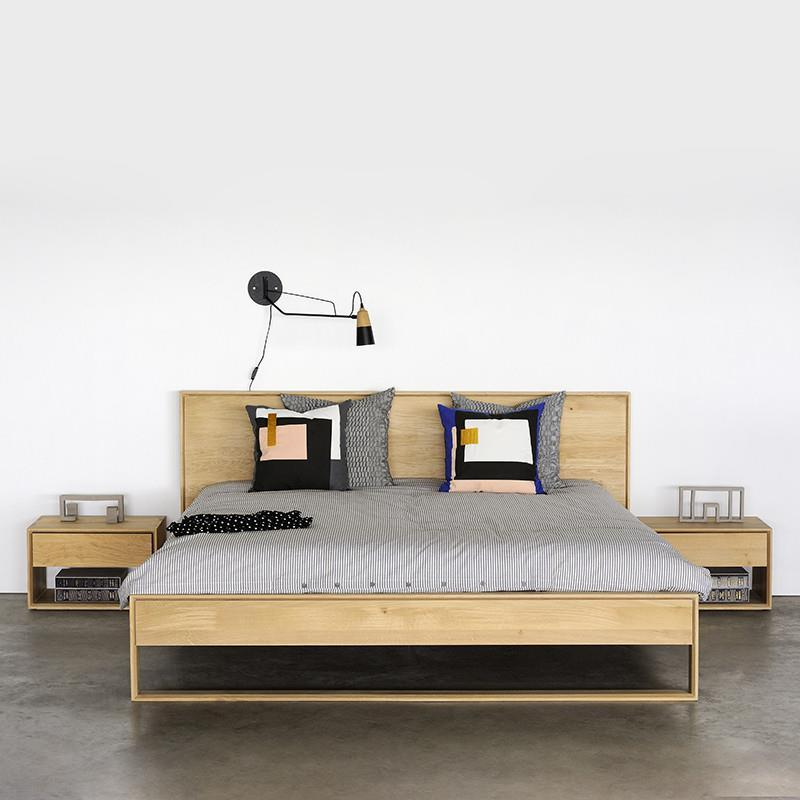 Ethnicraft Oak Nordic II Queen Bed