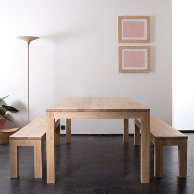 Ethnicraft Oak Straight dining table 220