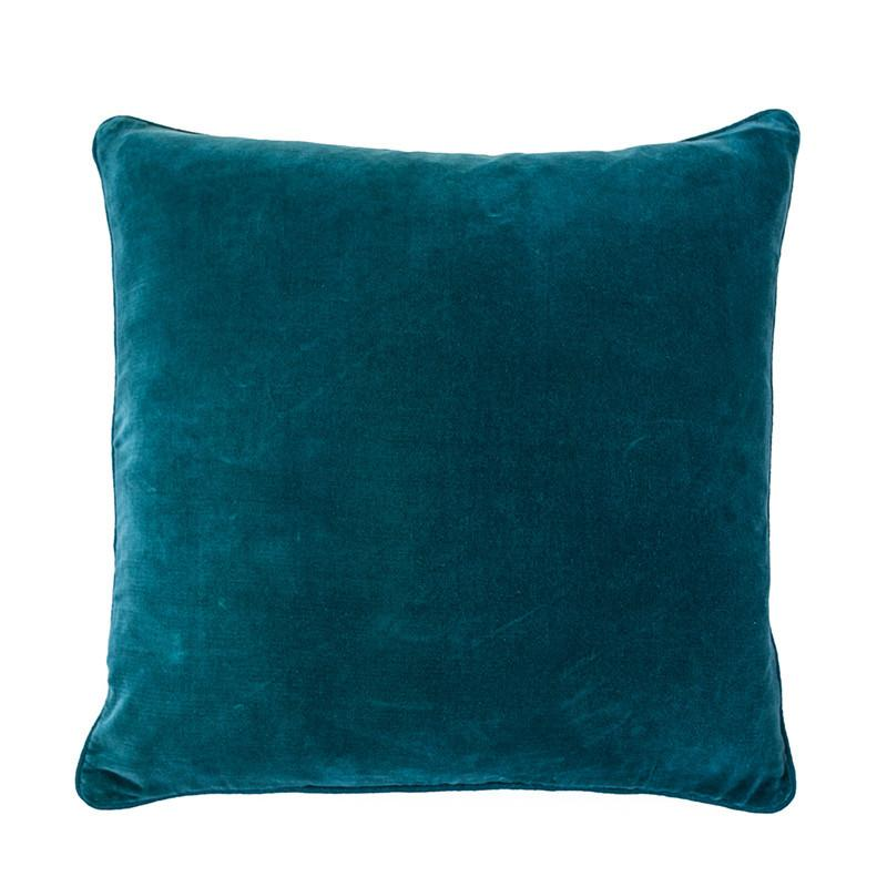 100% Cotton Ocean Velvet Cushion