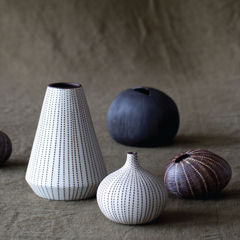 buy Mini Pebble Vase - Brown online