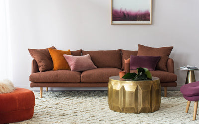 Nest Sofa in Rust