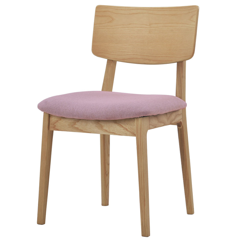 buy NOFU 597 Dining Chair - Pink/Natural Ash online