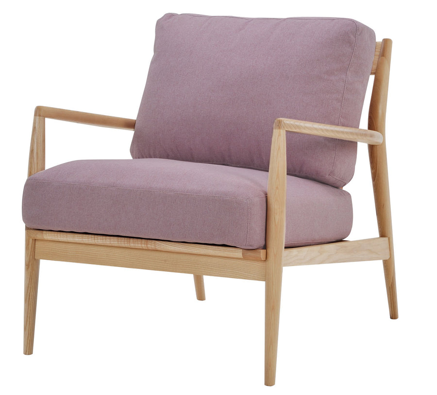 NOFU 805 Chair - Pink/Natural Ash