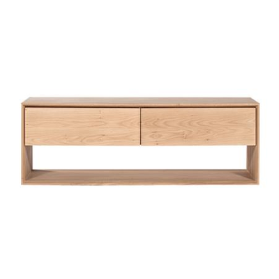 Ethnicraft Oak Nordic TV Unit- Small