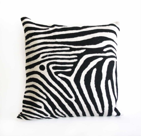 Quagga Wool Cushion