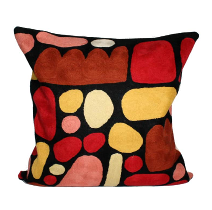 Puli Puli Stones Wool Cushion