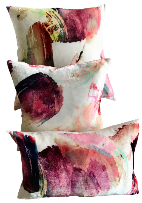 Iron Butterfly Velvet Cushion