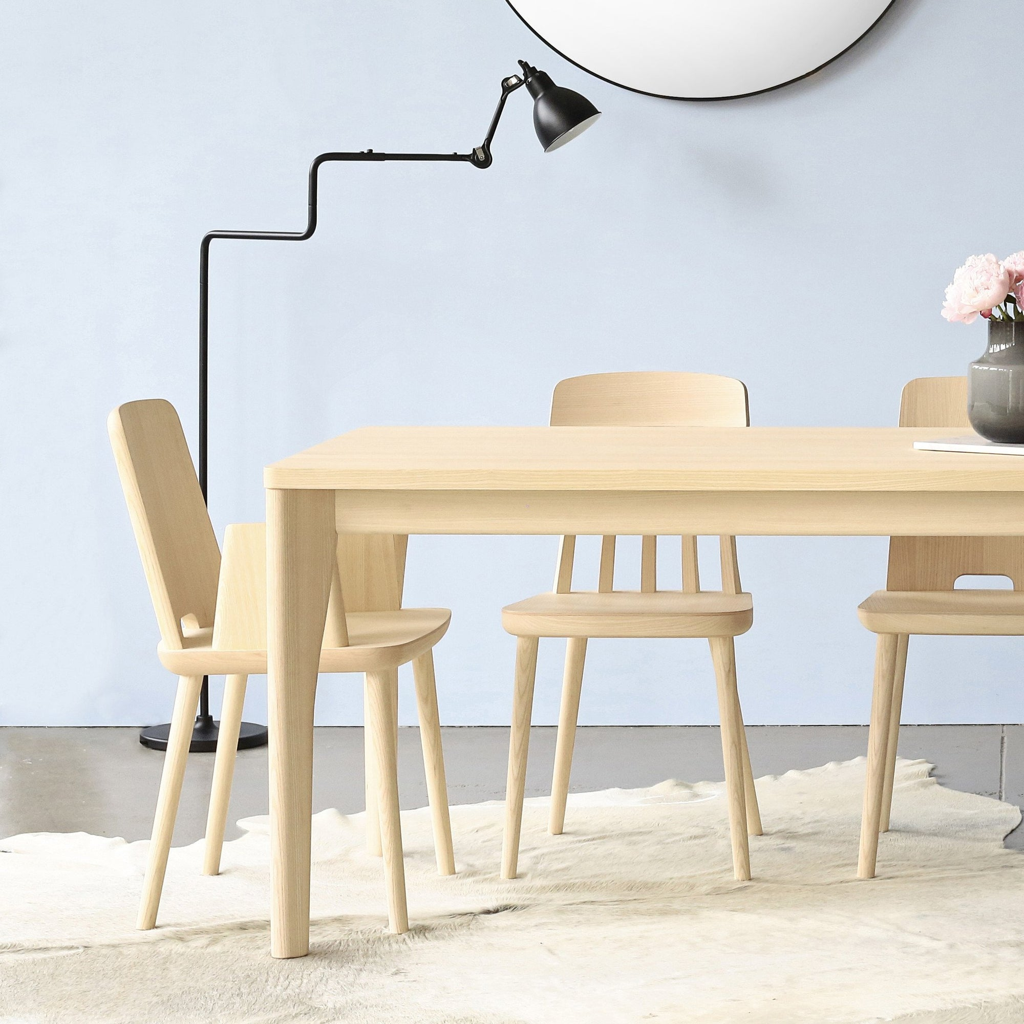 Terrific Sipa Tablet Dining Armchair In Natural Ash Download Free Architecture Designs Rallybritishbridgeorg