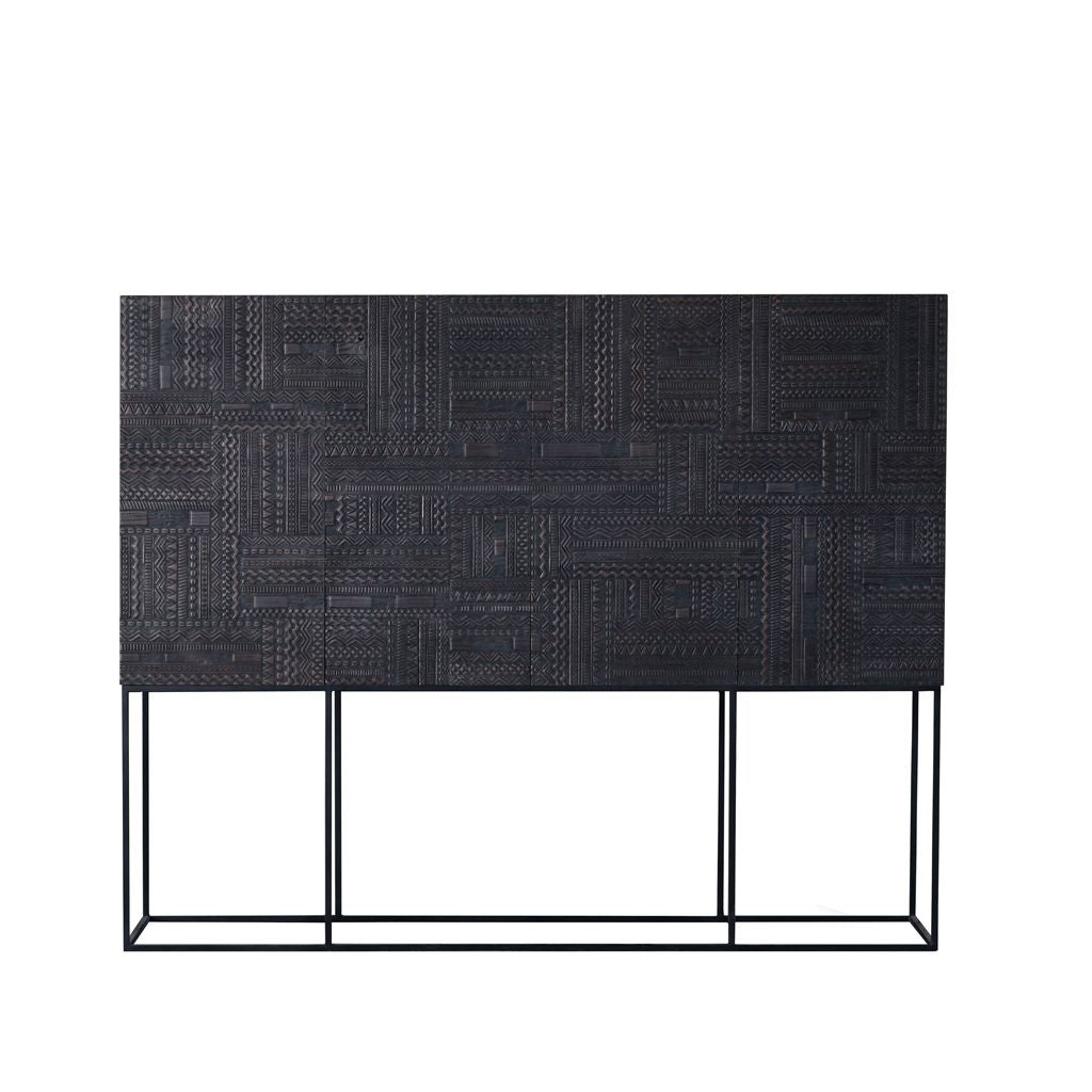 buy Ethnicraft Ancestors Tabwa sideboard high - 4 doors, 4 drawers online
