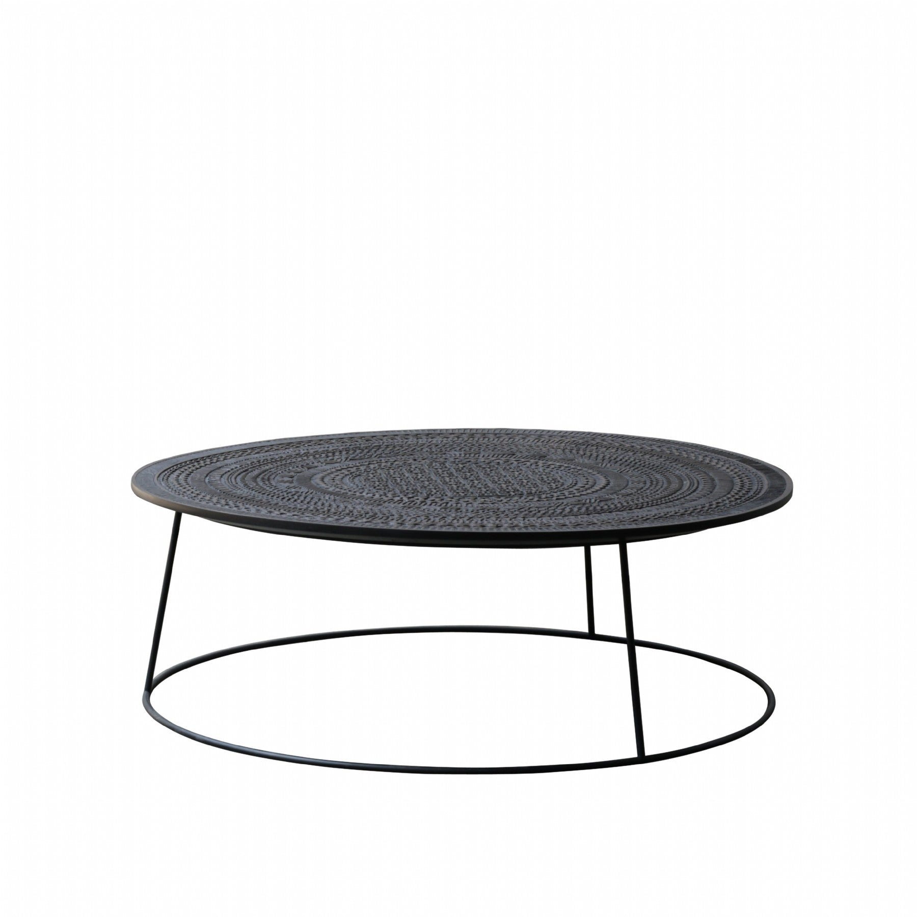 buy Ethnicraft Ancestors Tabwa Round coffee table online