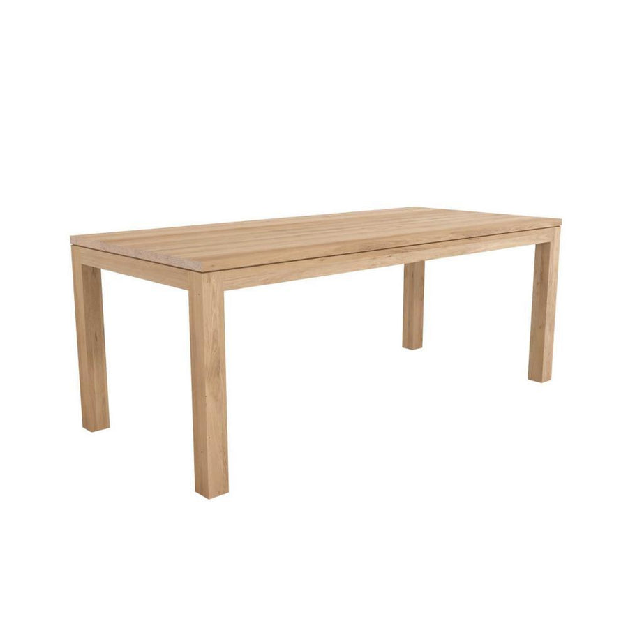 Ethnicraft Oak Straight dining table 200