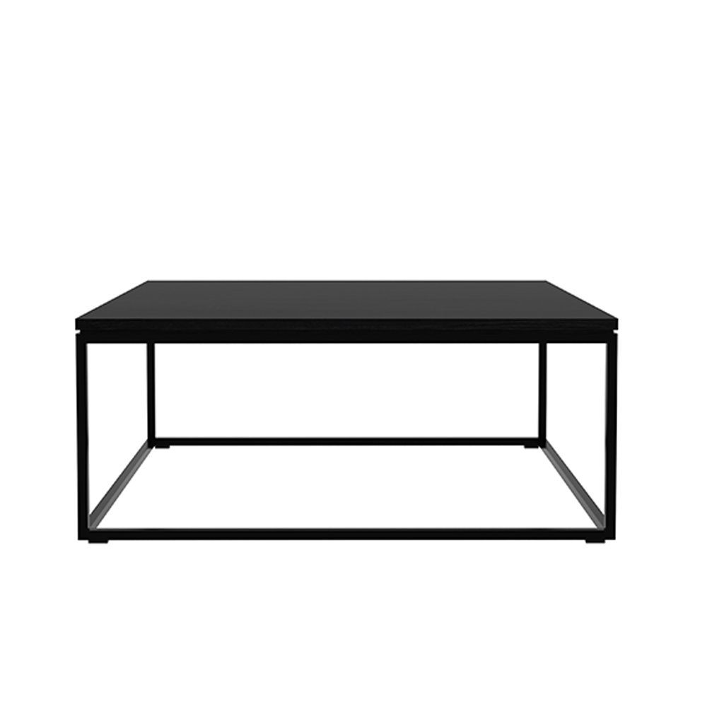 Ethnicraft Oak Thin Coffee Table - Black