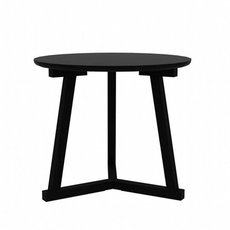 buy Ethnicraft Oak Tripod Side Table - Black online