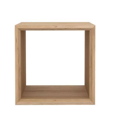 Ethnicraft Oak Cube Table - Closed
