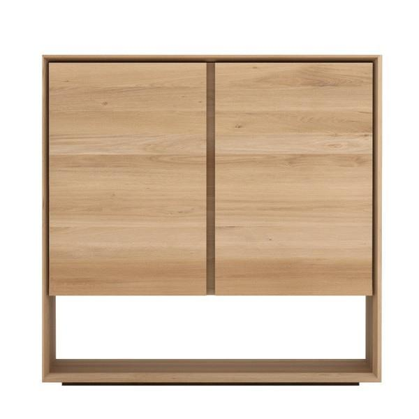 buy Ethnicraft Oak Nordic Sideboard with 2 doors online