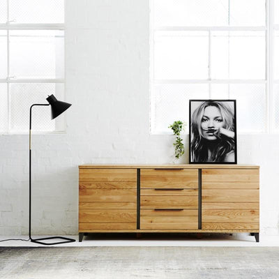 Industrial M Sideboard - Graphite