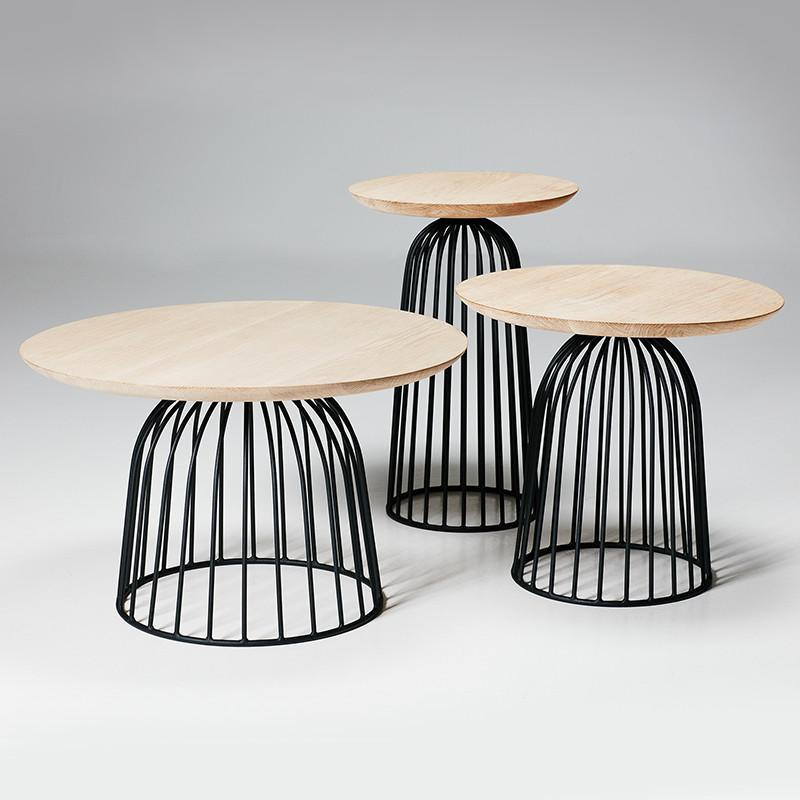 Wire Basket Table - Medium