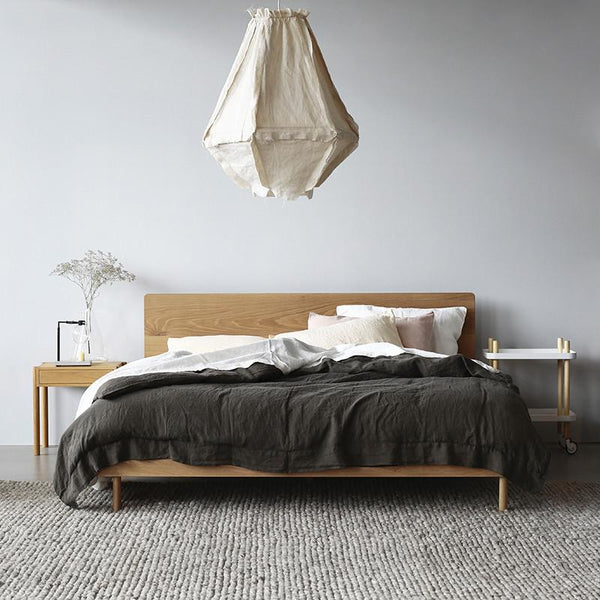 Exclusive linear king bed curious grace for Exclusive beds