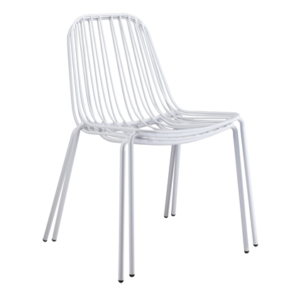 Resonate Cafe Dining Chair White