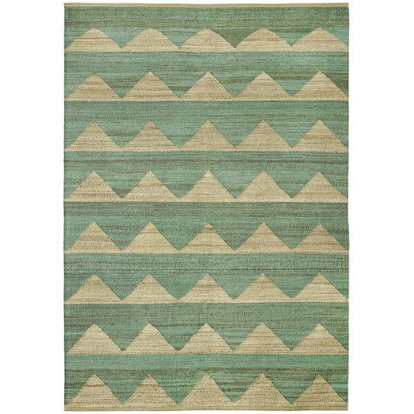 buy Brita Hemp Rug - Dark Mint online