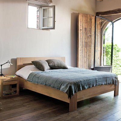 Ethnicraft Oak Azur King Size Bed
