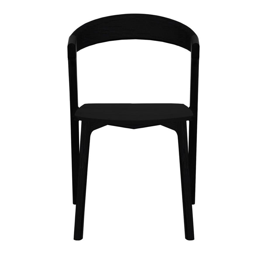 Ethnicraft Oak Bok Dining Chair - Black
