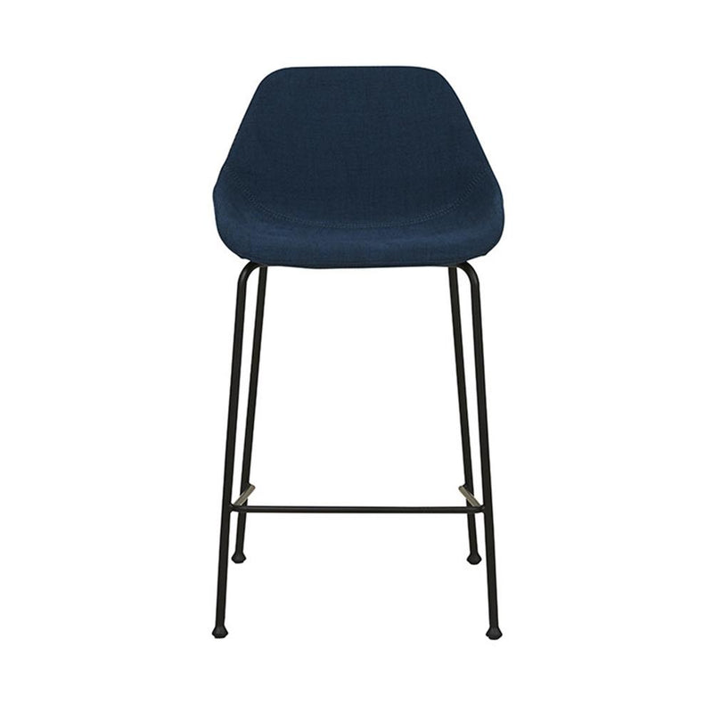 Ronald Barstool in Dark Blue