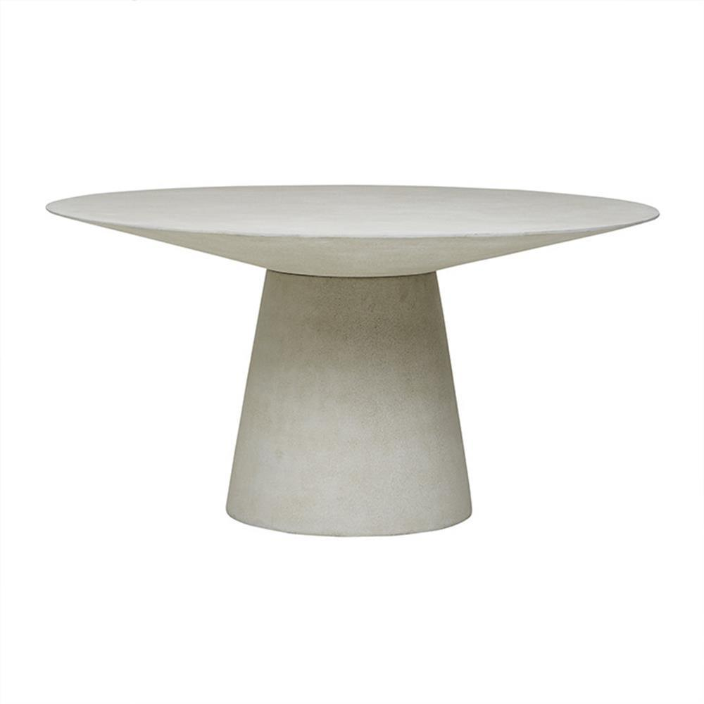 Livorno Round Dining Table in Grey Speckle