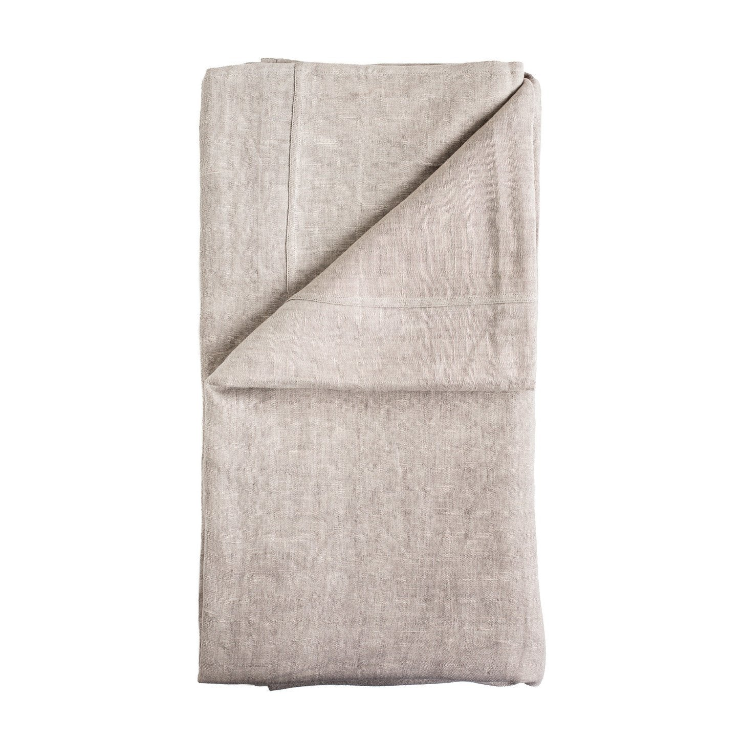 buy 100% Pre-washed Silver Grey Linen Bed Cover online
