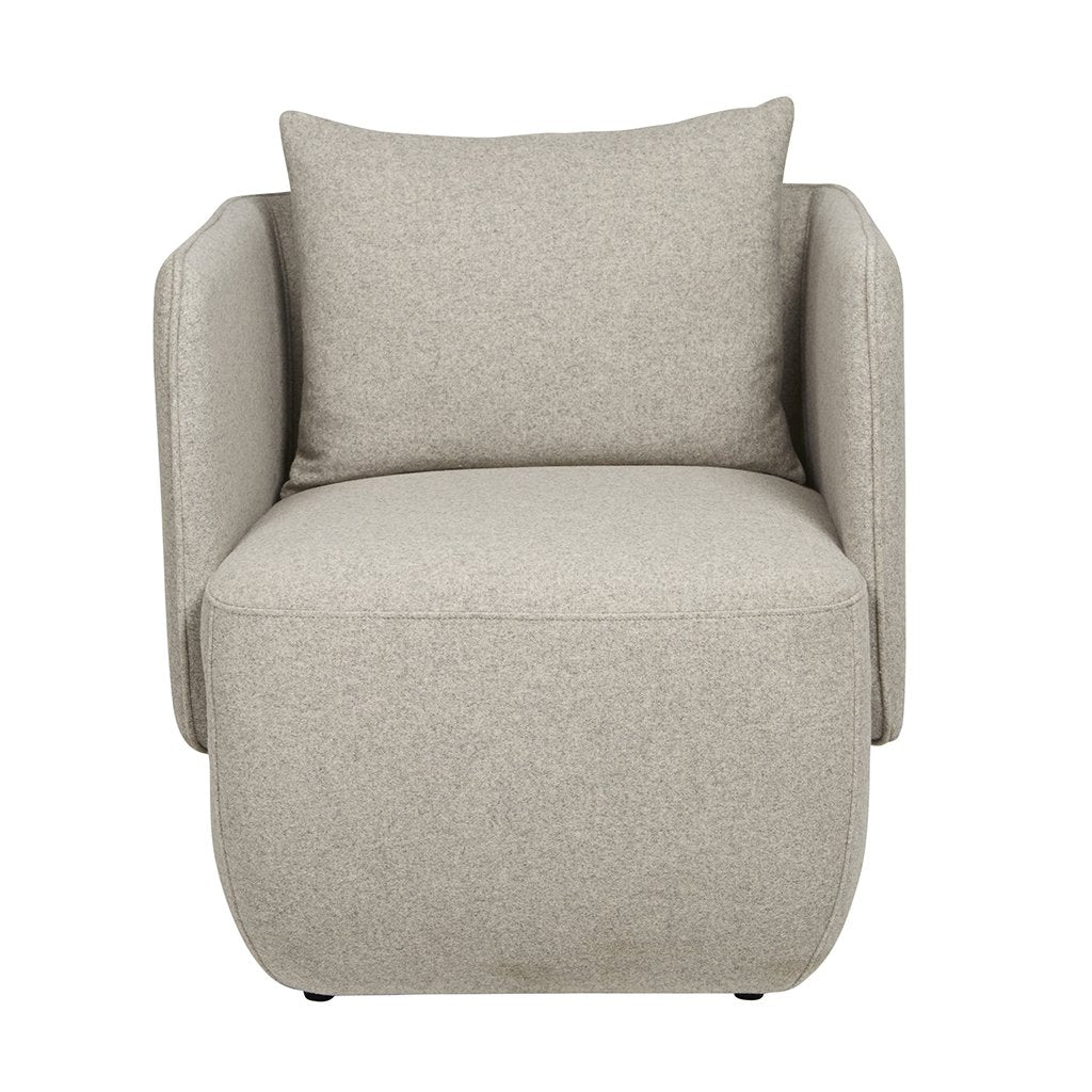 buy Felix Cocoon Occasional Chair Light Grey online