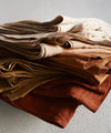 Flat Sheet in Peat Brown - Bedouin Societe