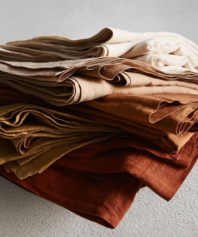 Flat Sheet in Toffee - Bedouin Societe