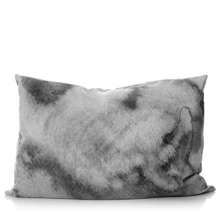 Grey Water Pillowcase