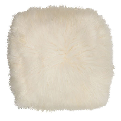 Icelandic Pouf in White
