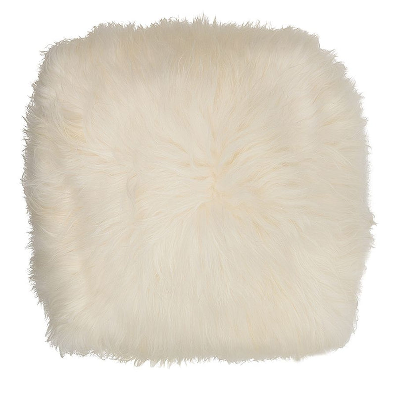 buy Icelandic Pouf in White online