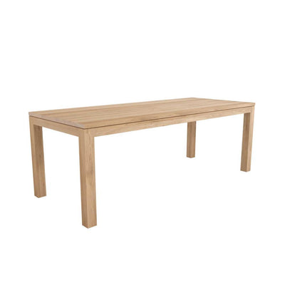 buy Ethnicraft Oak Straight dining table 220 online