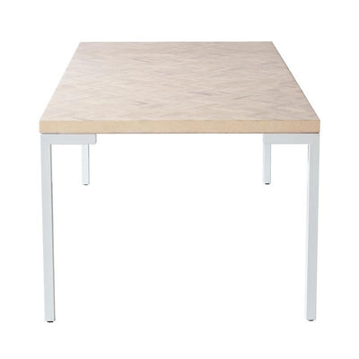 buy Evie DIning Table 180 - White Oak online