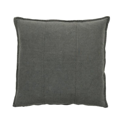 buy 100% Pre-washed Coal Linen Cushion online