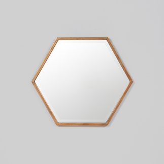 Polygon Mirror in Bronze