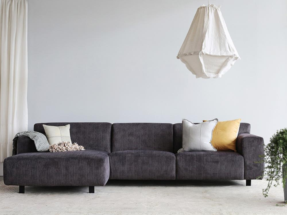 Moln Modular Sofa 4 Seater With Left Chaise Curious Grace