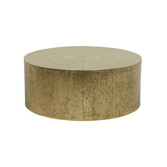Taj Round Coffee Table Antique Brass Curious Grace