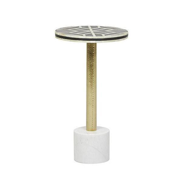 buy Bone Geometric Side Table online